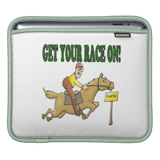 Get Your Race On Sleeves For iPads