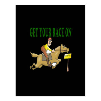 Get Your Race On Postcard