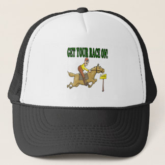 Get Your Race On Trucker Hat