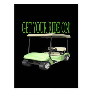 Get Your Ride On Postcard