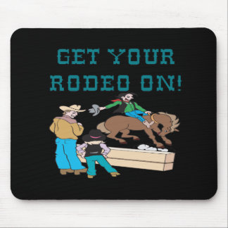 Get Your Rodeo On Mouse Pad