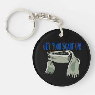 Get Your Scarf On Keychain