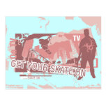 Get Your Skate On T-shirts and Gifts Postcard