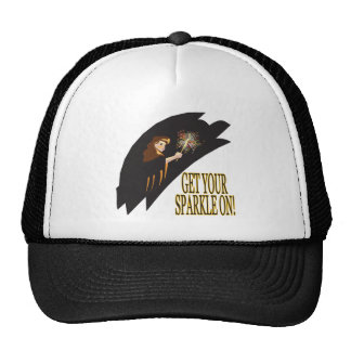 Get Your Sparkle On Trucker Hat