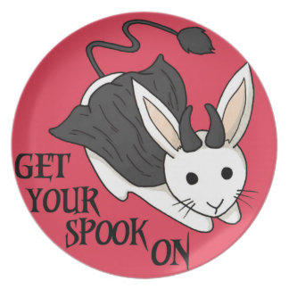 Get your spook on Plate - RED