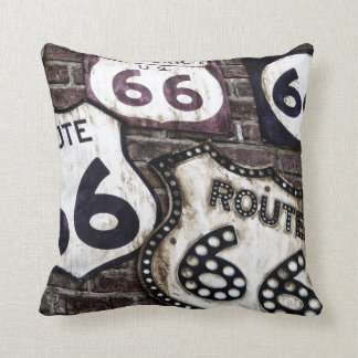 Get your stamps on Route 66 ! Pillow