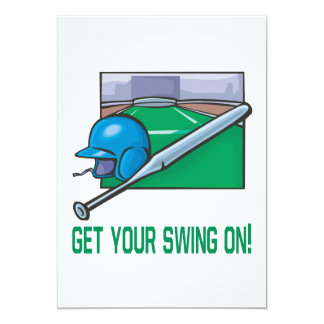 Get Your Swing On Card