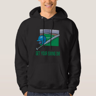 Get Your Swing On Hoodie