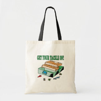 Get Your Tackle On Tote Bags