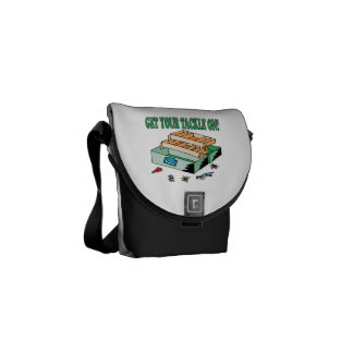 Get Your Tackle On Courier Bags
