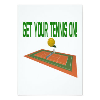 Get Your Tennis On Card