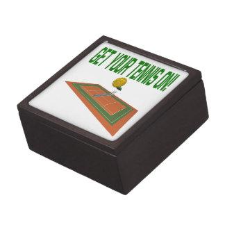 Get Your Tennis On Premium Keepsake Boxes
