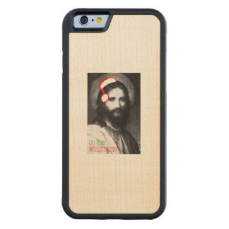 Get your wallets ready - Holiday Humor Carved® Maple iPhone 6 Bumper Case