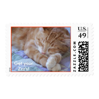Get your Zzz's! Stamp