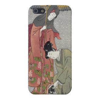Geta no yukitori, Isoda Koryusai iPhone SE/5/5s Case
