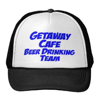 Getaway Cafe Beer Drinking Team Mesh Hats