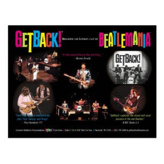 GetBack!® Beatlemania Postcard