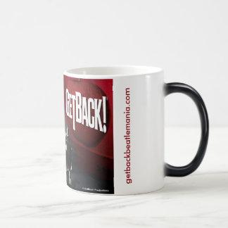 GetBack!® Black/White 11 oz Morphing Mug
