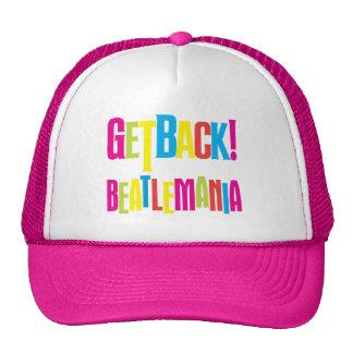 ¡GetBack! Gorra del camionero de Beatlemania del ®