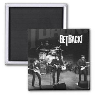 ¡GetBack! Imán de la foto del ®