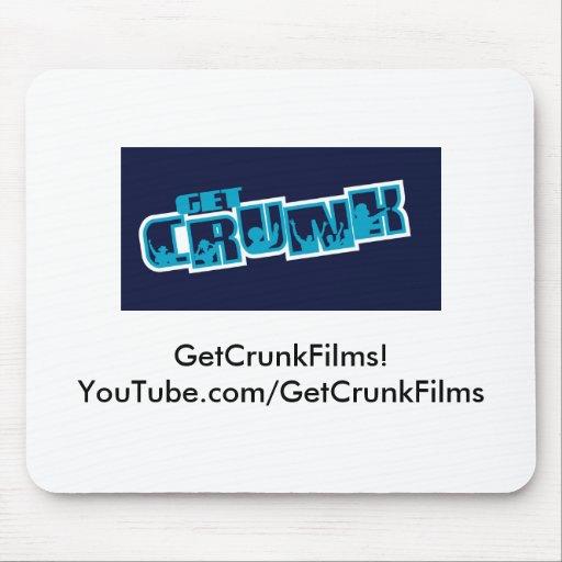 ¡GetCrunkFilms Mousepad! Alfombrilla De Ratones