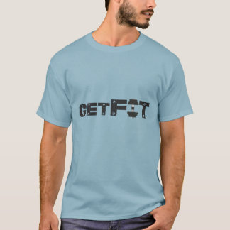 GetFit Dumbbell With Concept Text Design T-Shirt