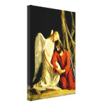 Gethsemane - artwork by Carl Bloch Gallery Wrapped Canvas