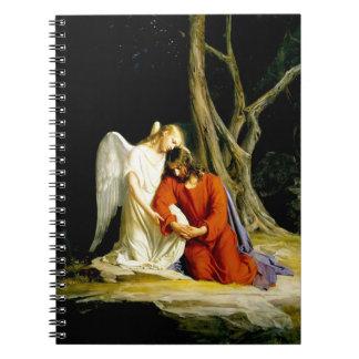Gethsemane by Carl Bloch. Christian Gift Notebooks