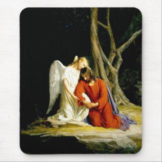 Gethsemane by Carl Bloch. Fine Art Gift Mousepad