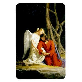 Gethsemane  by Carl Bloch. Fine Art Magnet
