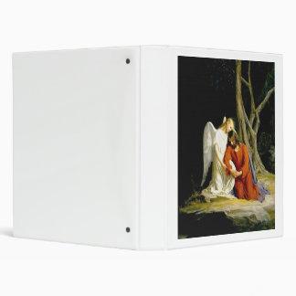 Gethsemane by Carl Heinrich Bloch 1805 3 Ring Binder