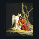 "Gethsemane by Carl Heinrich Bloch 1805 Canvas Print<br><div class=""desc"">.</div>"
