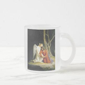 Gethsemane by Carl Heinrich Bloch 1805 Frosted Glass Coffee Mug