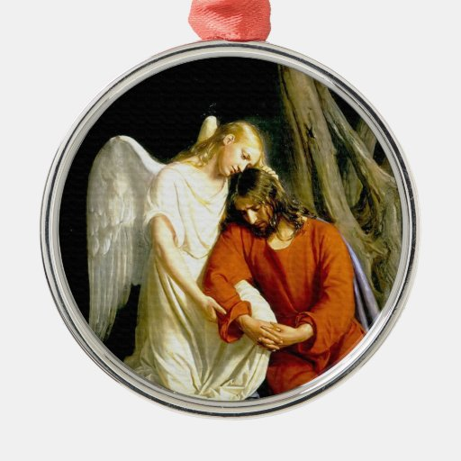 Gethsemane by Carl Heinrich Bloch 1805 Christmas Tree Ornaments