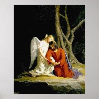 Gethsemane by Carl Heinrich Bloch 1805 Poster