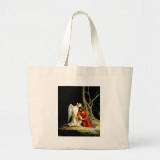 Gethsemane Carl Bloch Large Tote Bag