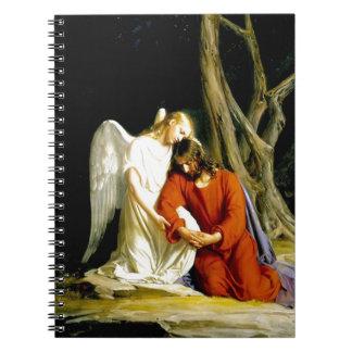 Gethsemane Carl Bloch Notebook