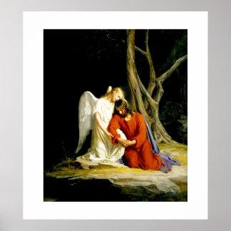 Gethsemane de Carl Bloch. Poster