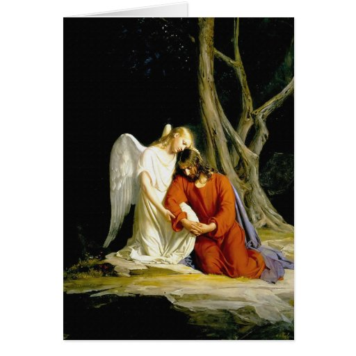 Gethsemane de Carl Heinrich Bloch 1805 Felicitación