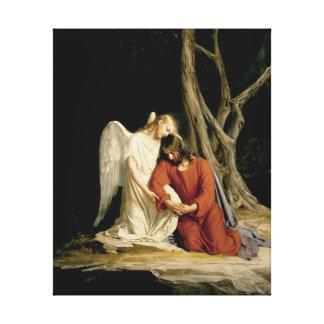 Gethsemane Digital restaurada Lona Estirada Galerias