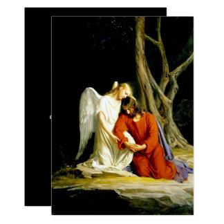 Gethsemane. Fine Art Customizable Cards