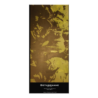 """Gethsemane"" Value Bookmark Rack Card"