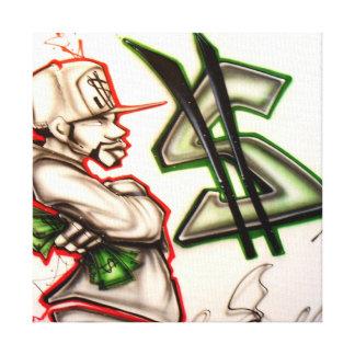 Get'n $ canvas print