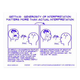 GetTh.is: Generosity of Interpretation Postcard