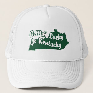Gettin' Lucky in Kentucky Trucker Hat