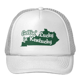 Gettin' Lucky in Kentucky Trucker Hat