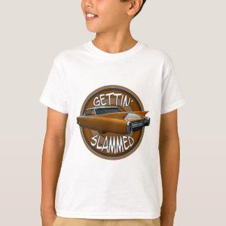 gettin slammed 1960 Cadillac golden pride T-Shirt