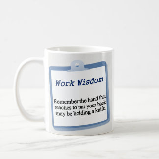 Getting a pat on the back mugs