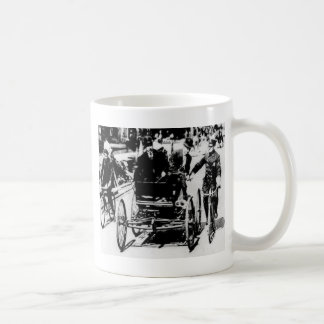 Getting a ticket coffee mug