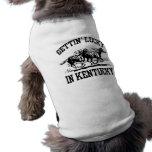 Getting afortunado en Kentucky Camisetas De Perrito